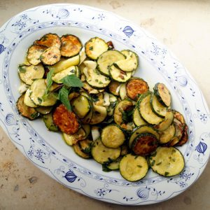 Frittierte Zucchini