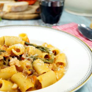 Pasta fagioli - Nudeln mit Bohnen