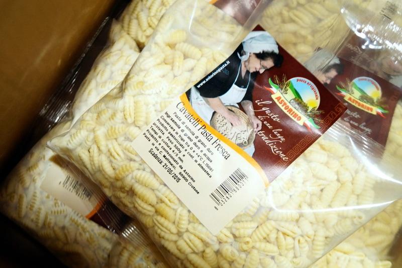 Handgemachte Pasta aus Kalabrien