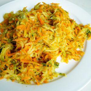 Insalata di cavolo rapa e carote