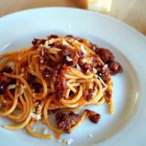 Pasta Salsiccia e zafferano