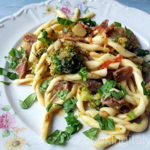 Soppressata e broccoli