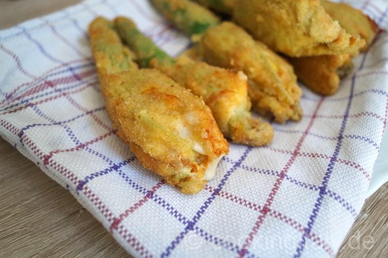 frittierte zucchiniblüten italienisch