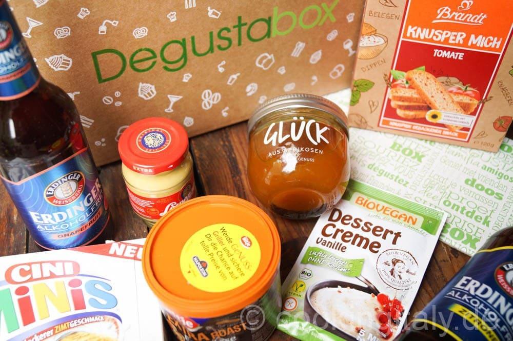 Die Degustabox – jeden Monat eine neue Überraschung