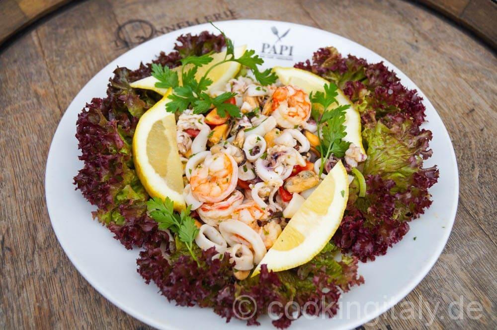 Insalata di Mare – Meeresfrüchte Salat